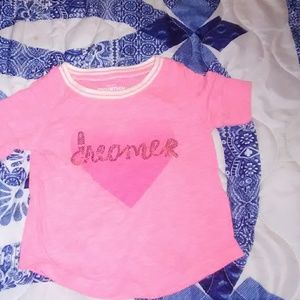 OshKosh B'gosh Shirts & Tops - Oshkosh B'gosh pink shirt
